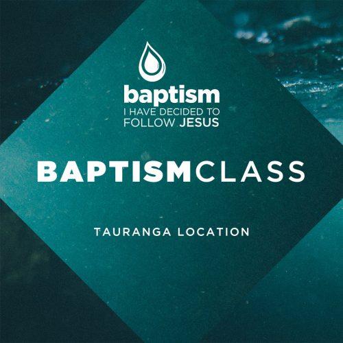 [Baptism Class]